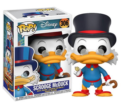 【新品】フィギュア スクルージ・マクダック 「ダックテイル」 POP! Disney Series #306