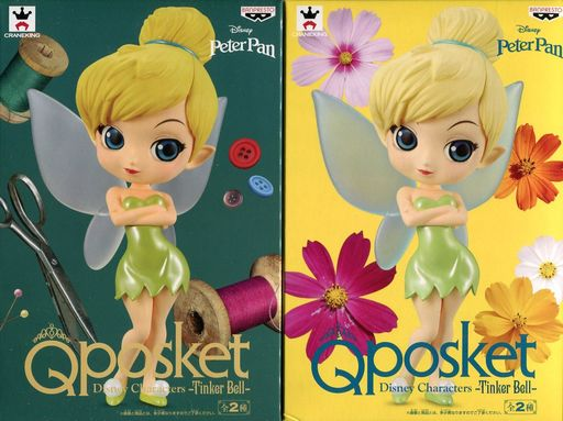 全2種セット 「ピーター・パン」 Q posket Disney Characters -Tinker Bell-