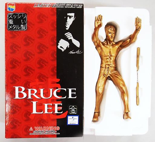 【中古】フィギュア BRUCE LEE-ブルース・リー-(ゴールドモデル) リミテッドスタチュー No.6