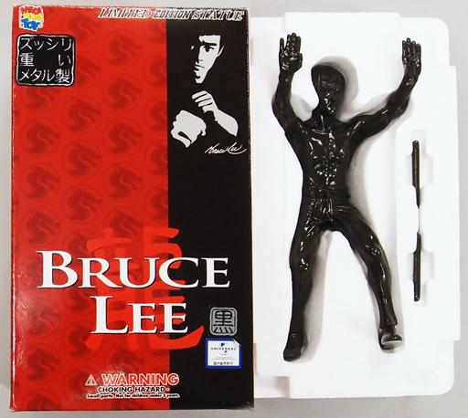 【中古】フィギュア BRUCE LEE-ブルース・リー-(ブラックモデル) リミテッドスタチュー No.6