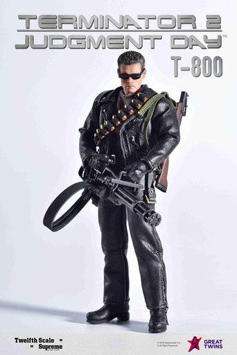 [初回特典付き] T-800 「ターミネーター2」 1/12 シュプリーム アクションフィギュア