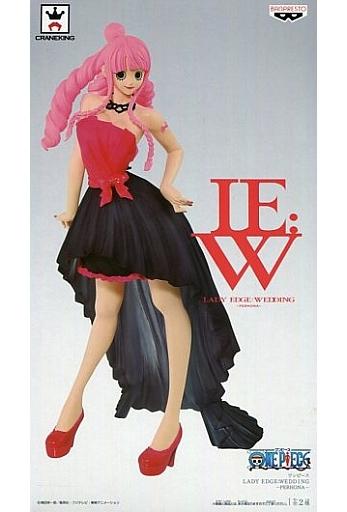 ペローナ(ピンク×ブラック) 「ワンピース」 LADY EDGE:WEDDING -PERHONA-