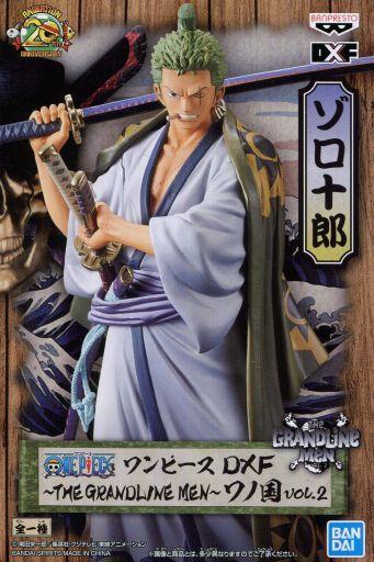 Zoro DXF Grandline Men Wano Kuni 17 cm Banpresto