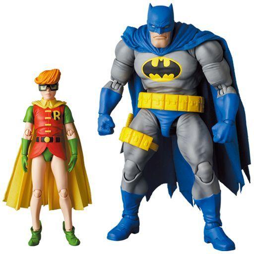 メディコム・トイ 予約 フィギュア MAFEX BATMAN BLUE Ver. & ROBIN(The Dark Knight Returns)-マフェックス バットマン ブルーバージョン アンド ロビン(ザ・ダークナイト・リターンズ)- 「バットマン:ダークナイト・リターンズ」