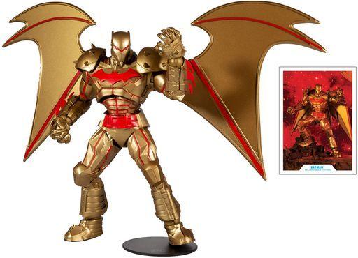 McFarlane Toys/ホットトイズ 予約 フィギュア ヘルバットアーマー・バットマン(ゴールドエディション) 「バットマン」 DCマルチバース #055 7インチ アクションフィギュア