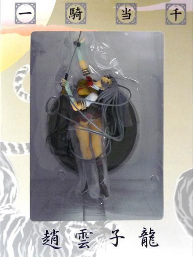 【中古】フィギュア [破損品] 趙雲子龍 「一騎当千」 PVC製塗装済み完成品 月刊コミックガム限定