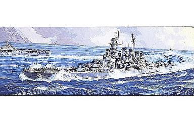 投げ売り堂 - 1/700 ノースカロライナ 「ウォーターライン外国艦 NO.611」_00