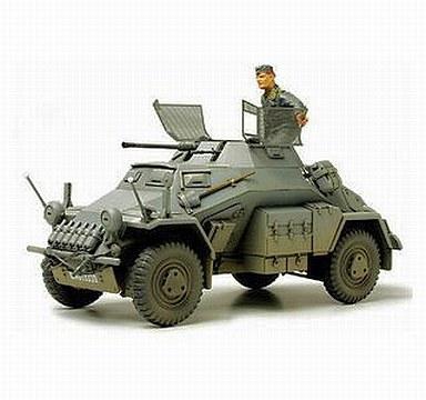【中古】プラモデル 1/35 ドイツ 4輪装甲偵察車 Sd.Kfz/222(エッチングパーツ付き) 「ミリタリーミニチュアシリーズ No.270」 ディスプレイモデル [35270]