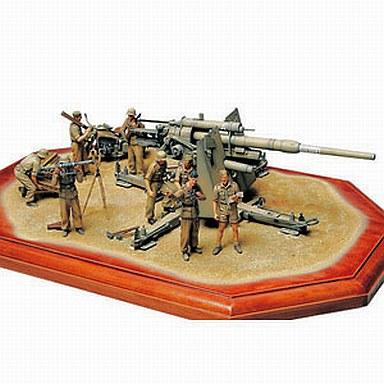 【中古】プラモデル 1/35 MM ドイツ88ミリ砲Flak36(北アフリカ戦線) 「ミリタリーミニチュア」