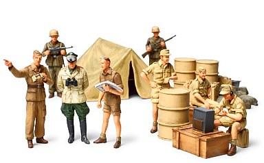 【中古】プラモデル 1/48 WWIIドイツ アフリカ軍団歩兵セット 「ミリタリーミニチュア」