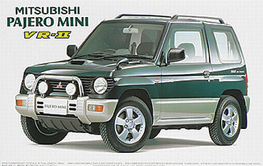 【中古】プラモデル 1/24 ID1 パジェロミニVRII'94 「インチアップシリーズ NO.1」