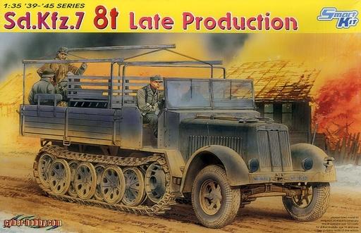 【中古】プラモデル 1/35 WW.II ドイツ軍 Sd.Kfz.7 8tハーフトラック 後期型 [CH6562]