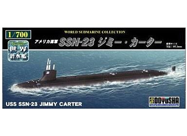 【新品】プラモデル 1/700 アメリカ海軍 SSN-23 ジミーカーター 「世界の潜水艦 No.04」