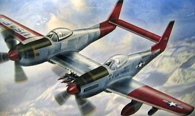 【新品】プラモデル 1/72 F-82G ツインムスタング[航空機モデルシリーズ 1][5257]
