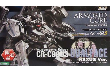 【中古】プラモデル 1/72 CREST CR-C90U3 デュアルフェイス ネクサスVer. 「アーマード・コア」 ヴァリアブルインフィニティシリーズ AC-005