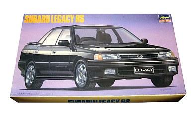 【中古】プラモデル 1/24 スバル レガシィ RS