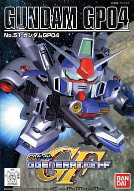 【中古】プラモデル RX-78GP-04 ガンダムGP-04「SDガンダム G GENARAION-F」No.51