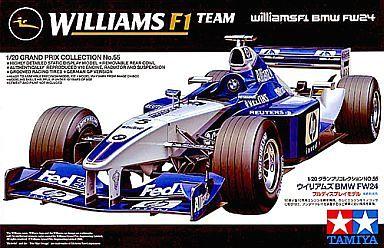 【中古】プラモデル 1/20 ウィリアムズBMW FW24 [グランプリコレクション NO.55]