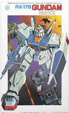 1/100 RX-178 ガンダムマークII 「機動戦士Zガンダム」 シリーズ No.03 [0503753]