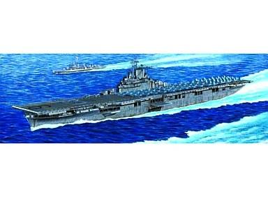 【新品】プラモデル 1/350 米海軍 空母 CV-9 エセックス [05602]