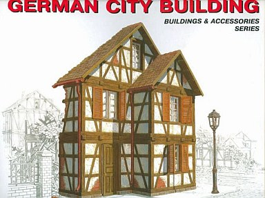 模型 1/35 GERMAN CITY BUILDING ジオラマベース(ドイツの都市の建物) [MA35506]