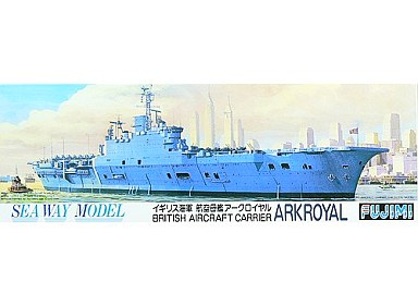 【中古】プラモデル 1/700 No.26 イギリス海軍 航空母艦 アークロイヤル 「シーウェイモデルシリーズ」