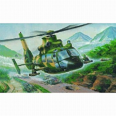 【中古】プラモデル 1/48 中国空軍 Z9-G ヘリコプター 「中国人民解放軍シリーズ」 [02802]