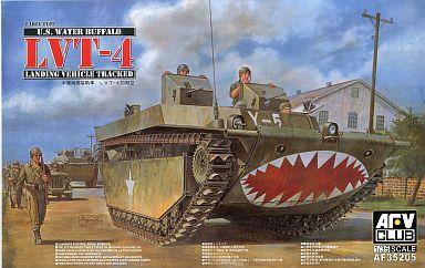 【新品】プラモデル 1/35 LTV-4 ウォーターバッファロー(初期型) [AF35205]