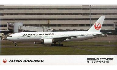【新品】プラモデル 1/200 日本航空 ボーイング 777-200「旅客機シリーズ」 [14]