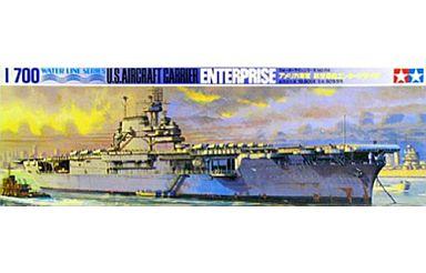 【新品】プラモデル 1/700 アメリカ海軍 航空母艦エンタープライズ 「ウォーターラインシリーズ No.706」 [77514]