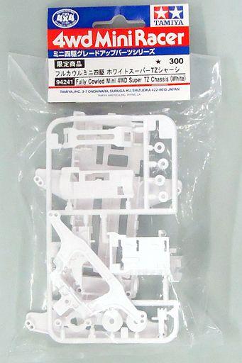 【中古】プラモデル ホワイトスーパーTZシャーシ [94241]