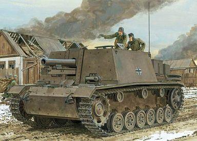 【中古】プラモデル 1/35 ドイツ s.I.G.33 III号自走重歩兵砲 (スマートキット) [6713]