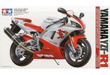 【中古】プラモデル 1/12 ヤマハ YZF-R1 「オートバイシリーズ No.73」 [14073]