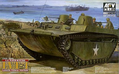 【新品】プラモデル 1/35 LVT-4ウォーターバッファロー後期型 [AF35198]