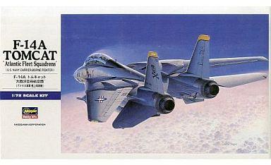 【中古】プラモデル 1/72 F-14A トムキャット 大西洋空母航空団 [E14]