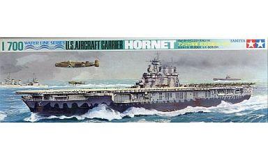 【中古】プラモデル 1/700 アメリカ海軍 航空母艦ホーネット 「ウォーターラインシリーズNO.110」 [77510]