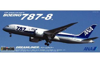 【新品】プラモデル 1/144 ボーイング 787-8 ANA ドリームライナー