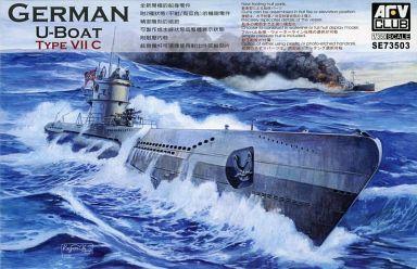 AFVクラブ 新品 プラモデル 1/350 独海軍Uボート タイプVIIC [SE73503]