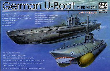 AFVクラブ 新品 プラモデル 1/350 独海軍Uボート タイプVIIC/41 [SE73504]