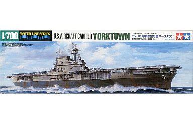 【新品】プラモデル 1/700 アメリカ海軍航空母艦 ヨークタウン 「ウォーターラインシリーズ No.712」 [31712]