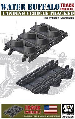 【新品】プラモデル 1/35 LVT-4 ウォーター・バッファロー用連結可動式キャタピラ [AF35226]