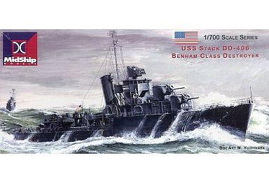 1/700 USS STACK DD-406 BENHAM ...