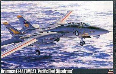 """【中古】プラモデル 1/48 グラマン F-14A トムキャット """"太平洋空母航空団"""" [P18]"""