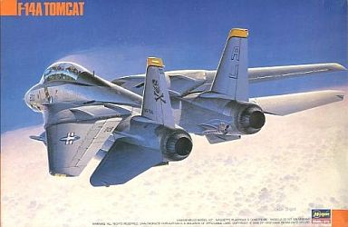 【中古】プラモデル 1/72 グラマン F-14A トムキャット '太西洋空母航空団' [K38]