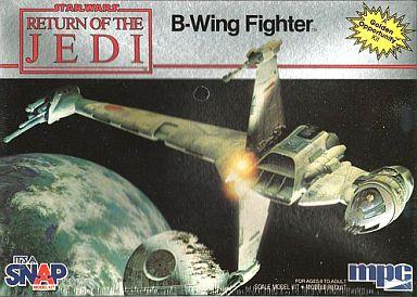 【中古】プラモデル B-Wing Fighter -Bウィングファイター- 「スター・ウォーズ エピソード6 ジェダイの帰還」 [1-1974]