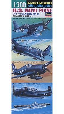 【新品】プラモデル 1/700 アメリカ航空母艦搭載機 「ウォーターラインシリーズ No.514」 [514]