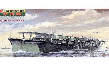 【中古】プラモデル 1/700 日本海軍千歳型航空母艦 千代田 「スカイウェーブシリーズ」 [W72]