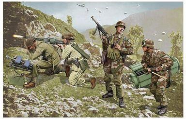 【中古】プラモデル 1/35 ドイツ特殊部隊 ブランデンブルク部隊 レロス島1943 [6743]