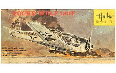 【中古】プラモデル 1/72 FOCKE WULF 190F -フォッケウルフ 190F- [L087]