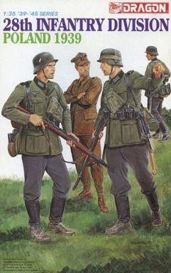 【中古】プラモデル 1/35 ドイツ軍 第28歩兵師団 ポーランド1939 「'39-45' SERIES」 [6344]